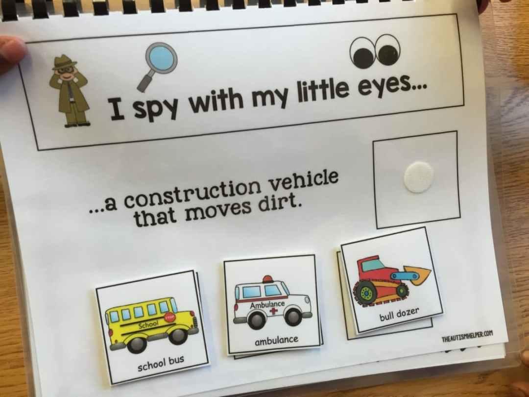 I Spy Bull Dozer 2