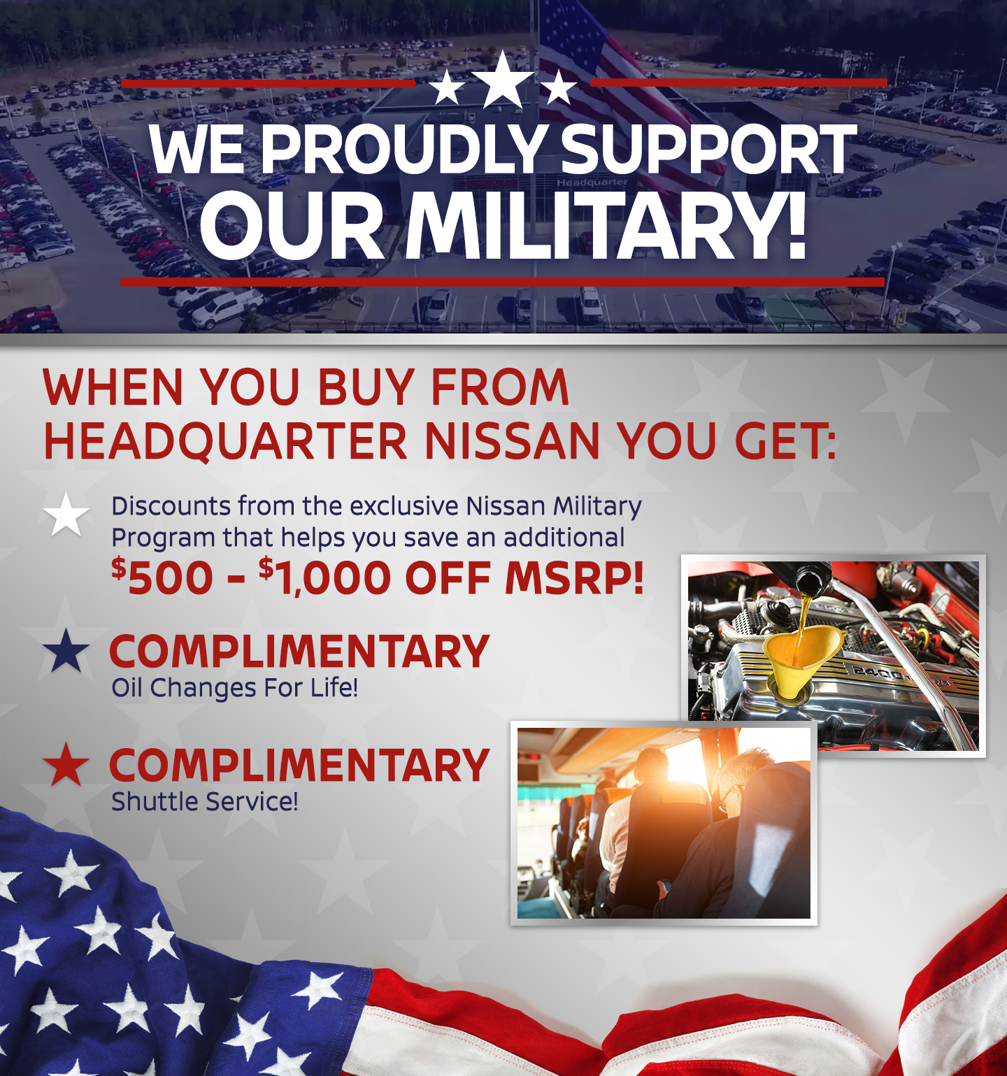 Auto Accessories Garage Military Discount Military Benefits