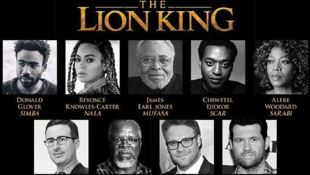 the lion king 1994 cast with pictures