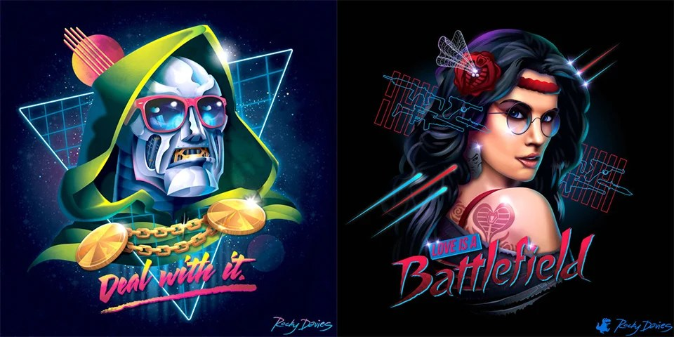 Rocky Wallpaper With Quotes 80s Villain Vinyl Covers The Awesomer
