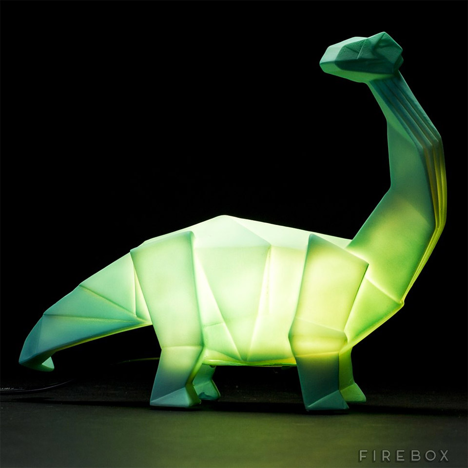Circle Table Lamp Dino Lamps - The Awesomer