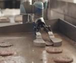 Burger-flipping Robot