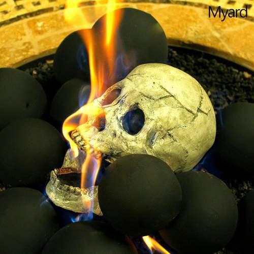 Medium Crop Of Fire Pit Skulls