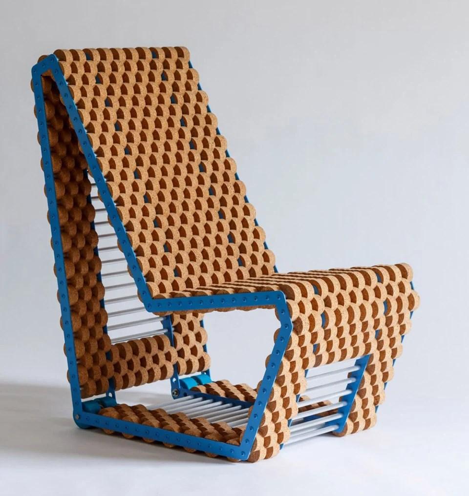 Cork Disc Chair