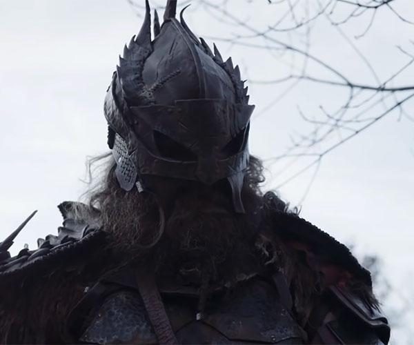 A Warrior Seeks Revenge Against a Monster in \
