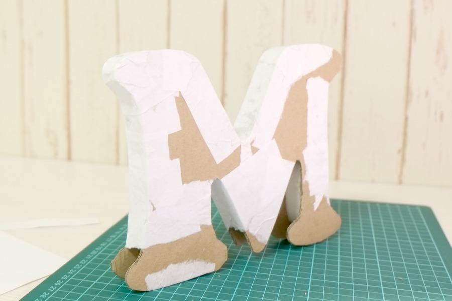 Как изготовить объемные буквы своими руками 44