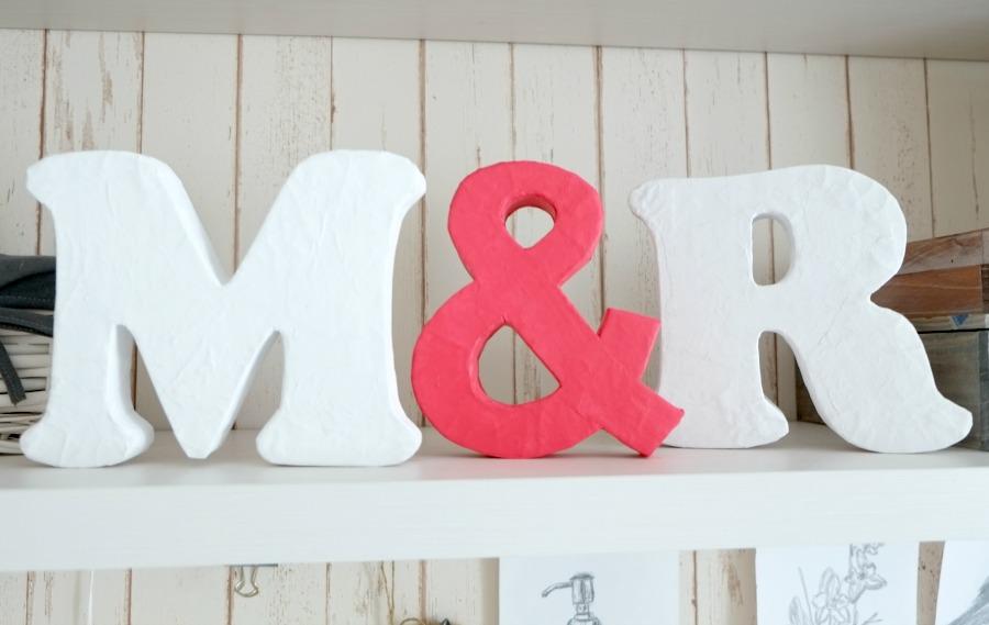 Буквы из картона своими руками шаблоны