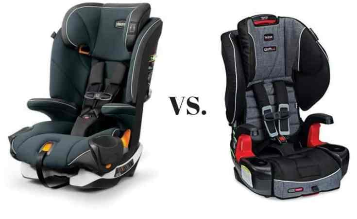 Britax Car Seat Us Chicco Myfit Harness Booster Car Seat Vs Britax Frontier