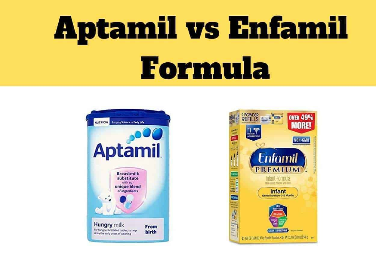 Infant Reflux Formula Vs Breast Milk Aptamil Vs Enfamil Formula Which Is Better The Baby Swag
