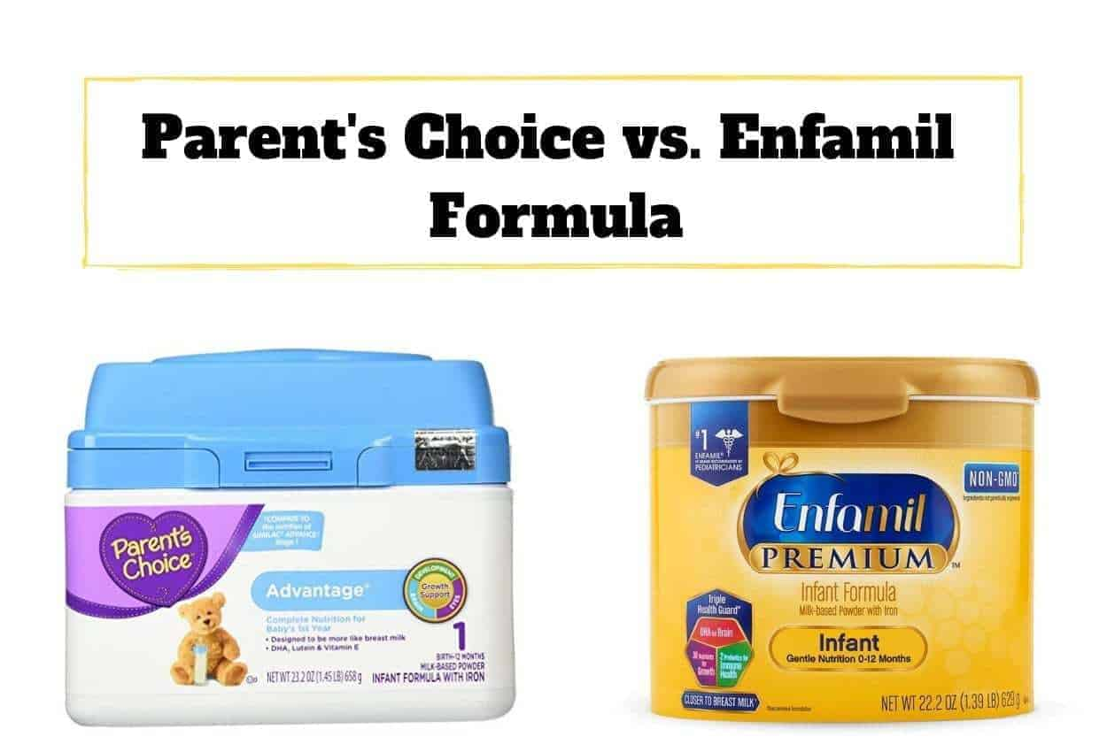 Baby Only Likes Ready Made Formula Parent S Choice Vs Enfamil Formula A Battle Of The Brands