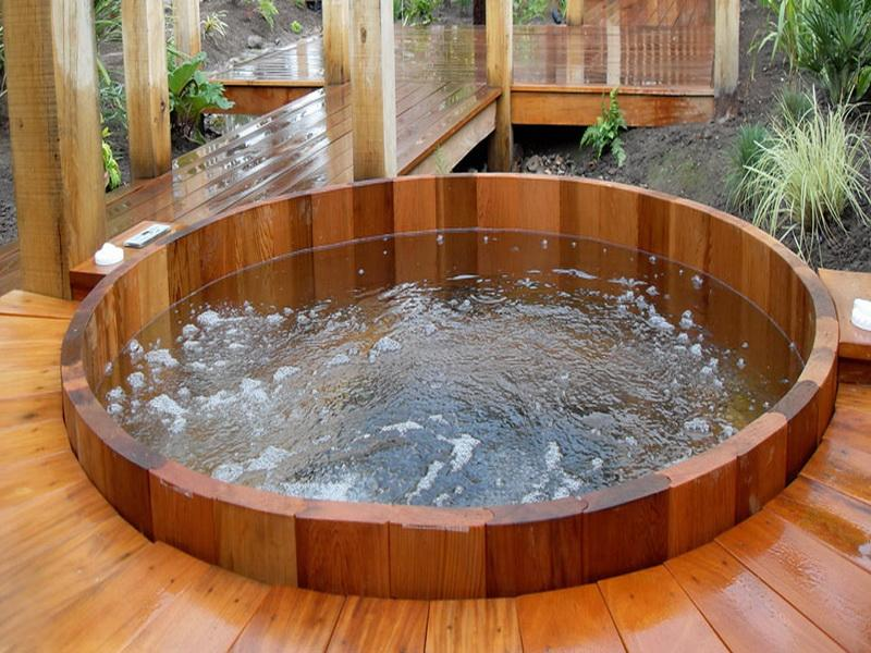 Jakusie How To Remove A Hot Tub Or Spa From The Backyard