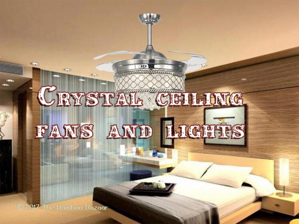 Ceiling Fans With Good Lighting Crystal Ceiling Fans Lights Guide To The Best Of 2019