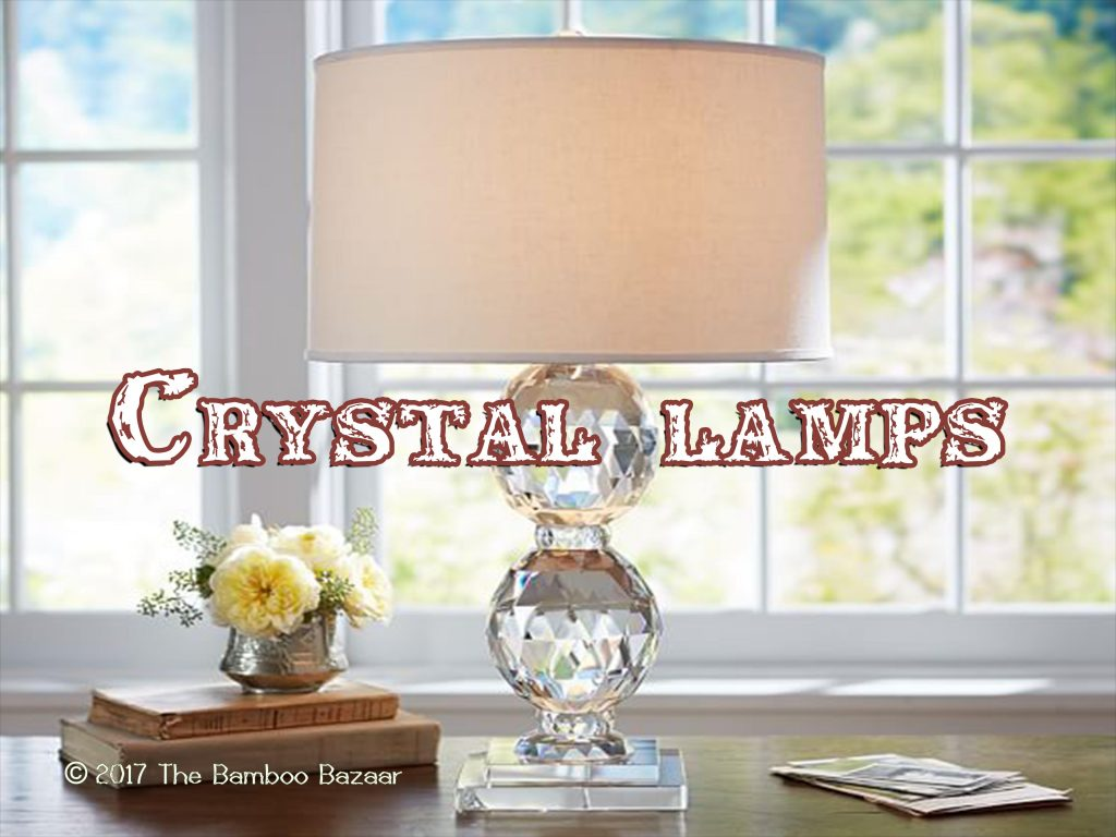 Crystal Lamp Crystal Floor Table Lamps A Guide To The Best Of 2018