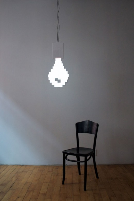 Tetris Lamp Pixel Bulb Lamp // The Band From