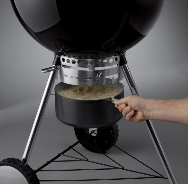 Weber Gbs System Weber Master-touch 57 Cm Black Charcoal Bbq - The Barbecue