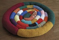 Crocheted Dog Bed | The Bark