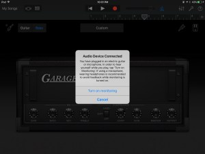 GarageBand Multitrack