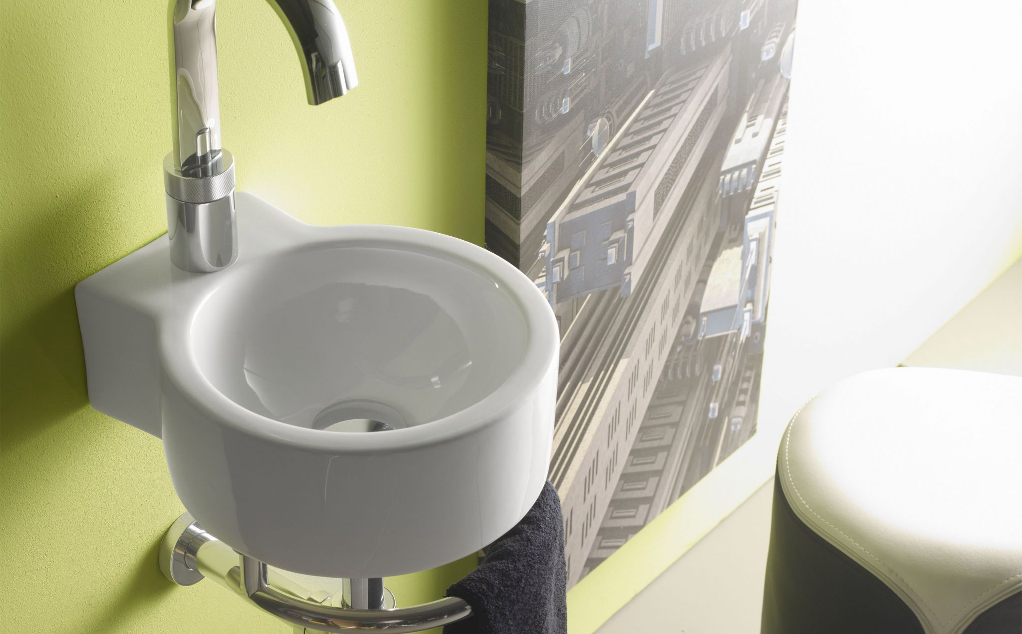 Toallero Mueble Lavabo Sherry Lavabos De Porcelana Mini Bathco