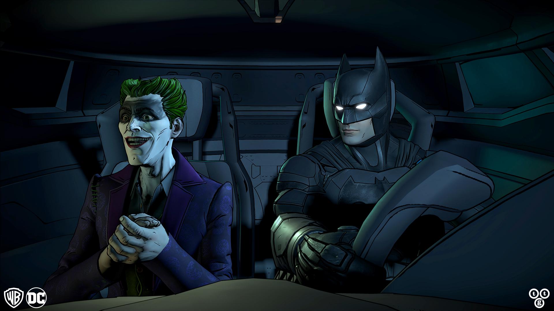 The Joker Animated Wallpaper The Batman Universe Final Season Episode Of Telltale S