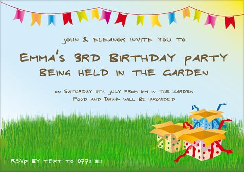 A Kids Birthday Invitation Ideas - Birthday Invitations