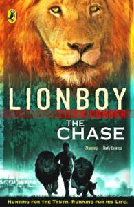 Lionboy The Chase by Zizou Corder Book Jacket