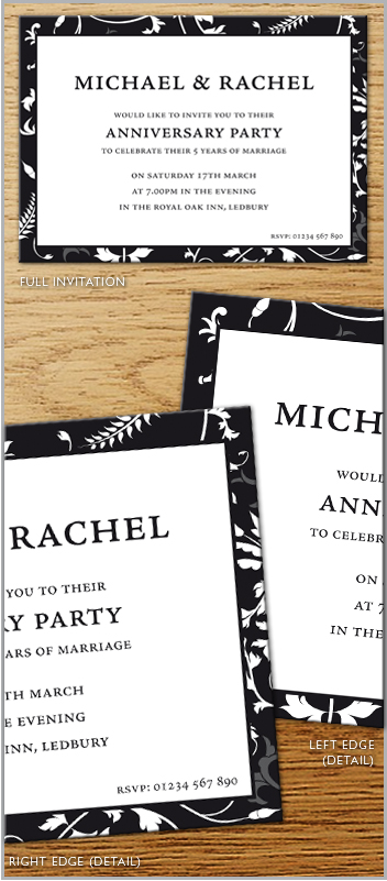 Invitations - Anniversary Invitation 2