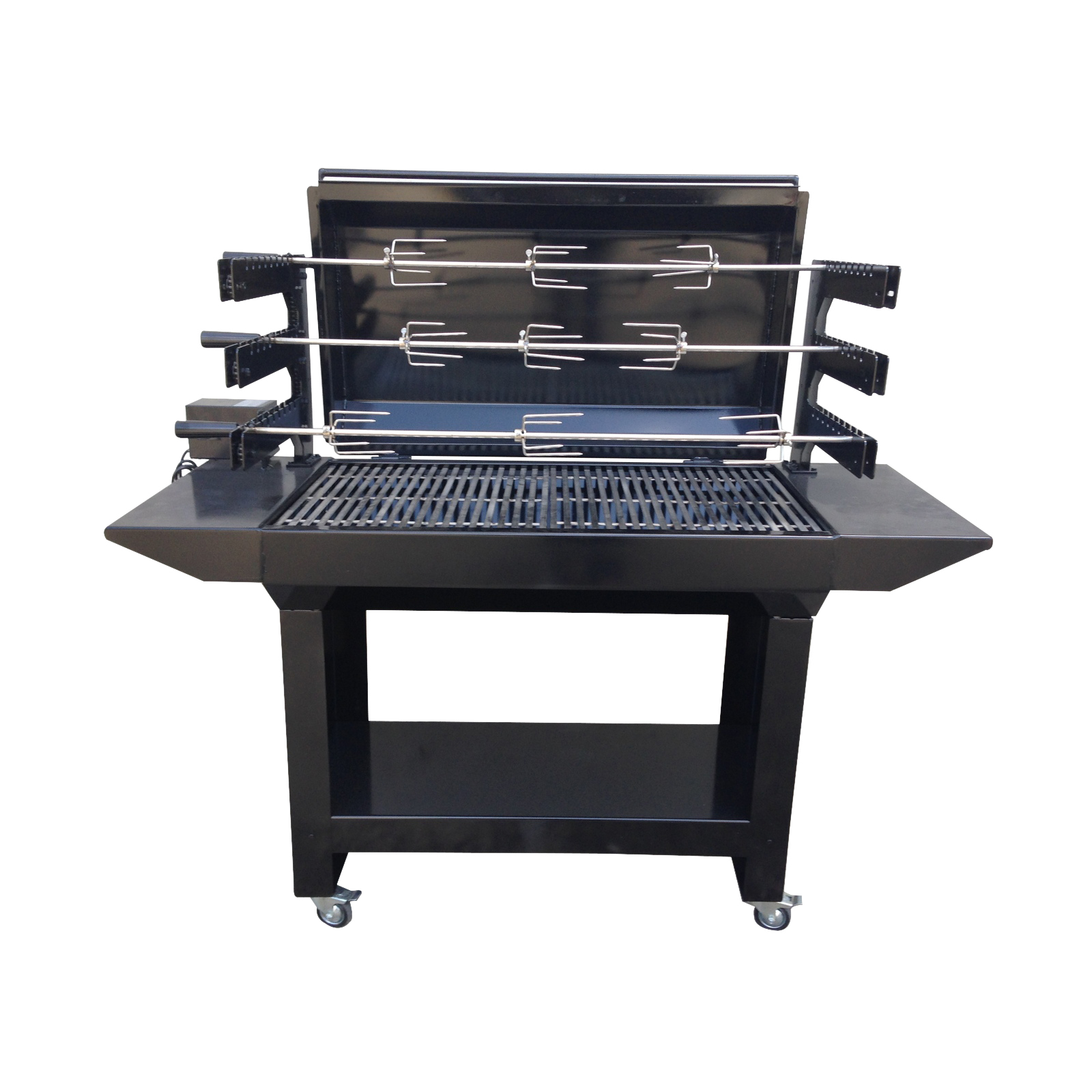 Charcoal For Bbq Australian Made 3 Tier Chain Driven Rotisserie Charcoal
