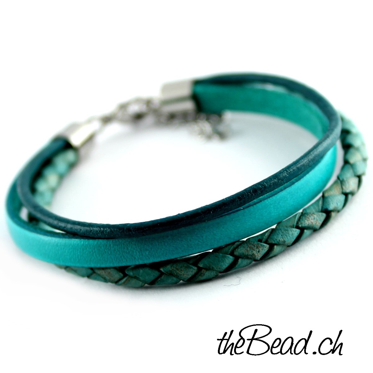 Türkis Schmuck Color Up Türkis Damenarmband One Size