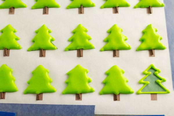 Christmas Royal Icing Transfers The Bearfoot Baker