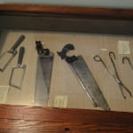 Doctor's Saws and forceps