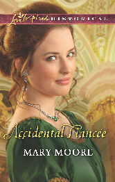 Cover for Accidental Fiancee by Mary Moore