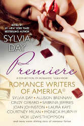 Cover image for PREMIERE, The RWA® Anthology with stories by various authors including Regina Scott