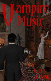 Cover image for VAMPIRE MUSIC by Julia Blaine