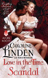 Cover image for Caroline Linden's Love in the Time of Scandal