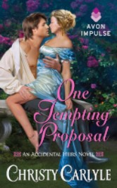 Cover image for Christy Carlyle's One Tempting Proposal
