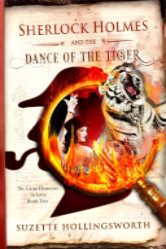 Cover image for Suzette Hollingsworth's Sherlock Holmes and the Dance of the Tiger