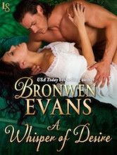 Cover image for Bronwen Evans' A Whisper of Desire