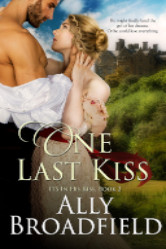 Cover image for ONE LAST KISS by Ally Broadfield