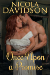 Cover image for ONCE UPON A PROMISE by Nicola Davidson