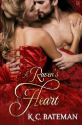 Cover image for A RAVEN'S HEART by K.C. Bateman