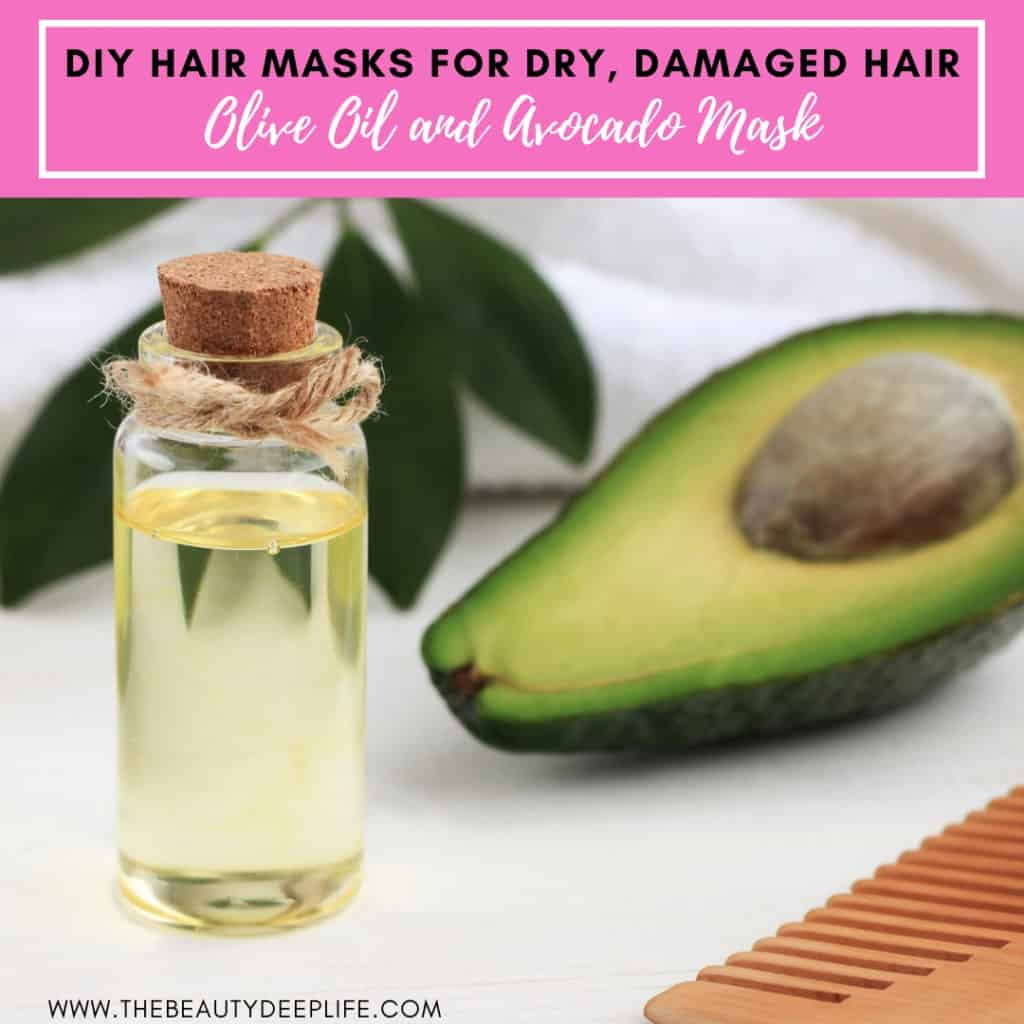 7 Simple Diy Hair Masks For Dry Damaged Hair The Beauty Deep Life