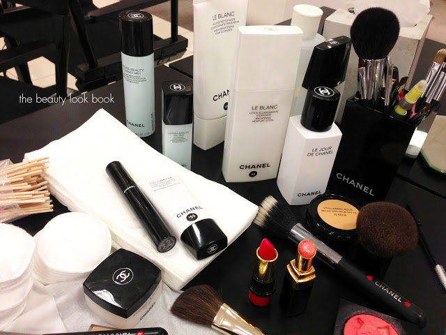 Chanel Makeover Escape To Venice Event The Beauty Look