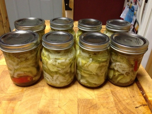 The best damn bread and butter pickles you will ever have. The end.
