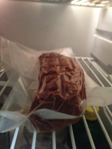 My Lomo resting in my refrigerator for four weeks.