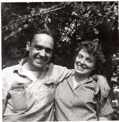 My hard-working mother and father, Jack and Evelyn Hopkins, Greenville, CA. c. 1966.