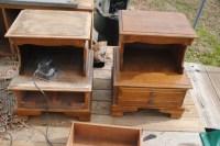 Repurposed furniture play kitchen | The Beginning of Wisdom