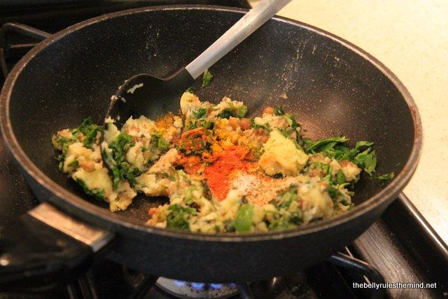 add dry masala