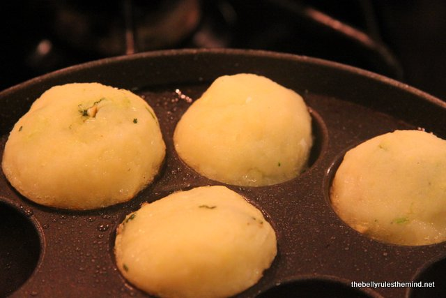 Farali Patties being cooked