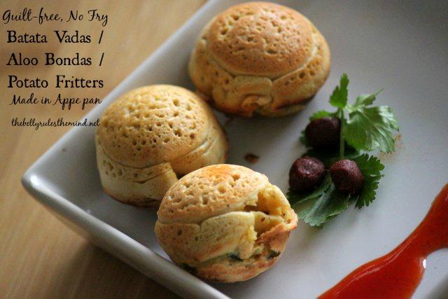 Batata Vadas Aloo Bondas Potato Fritters