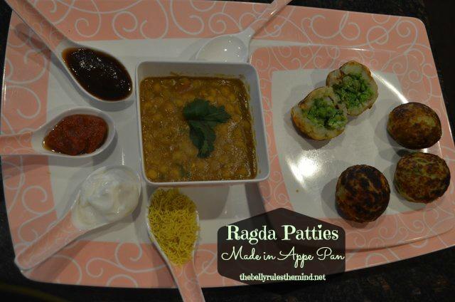 Radga Patties made in appe pan